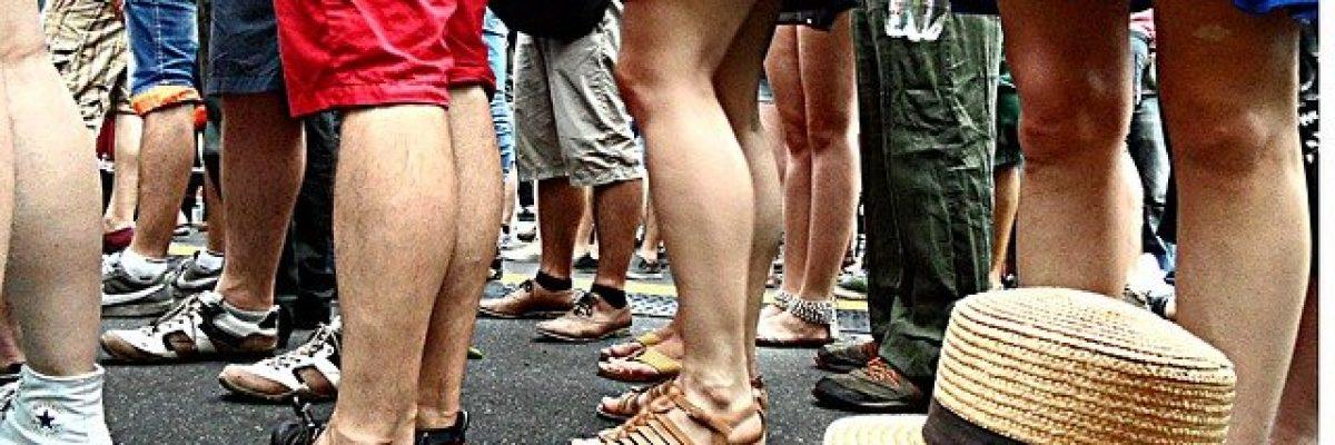 Beine Menschen