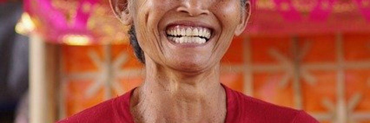 Frau glücklich