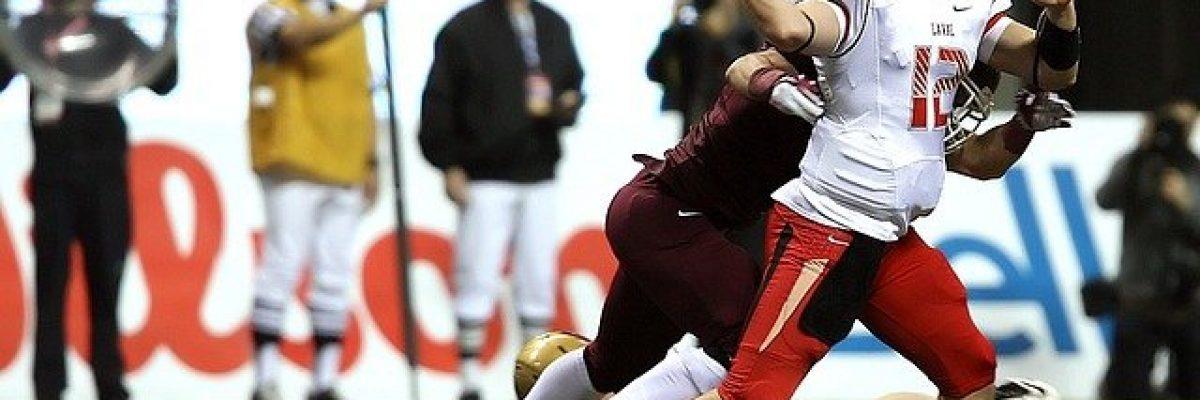 football Rücken taggling