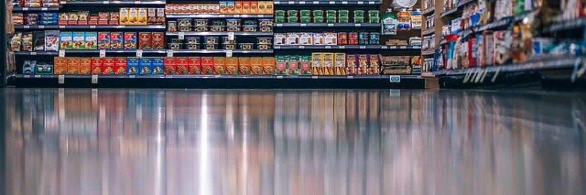 verpackungen, Supermarkt